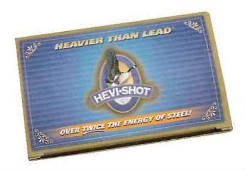 "Hevi-Shot Waterfowl Ultra Density 12 Ga. 3"" 1 1/2 Oz #4 Hevi-Shot 10 Rounds Per Box Ammunition Md: 45354"