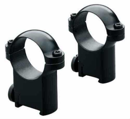 """Leupold Sako Ring Mounts 1"""" Low Black Md: 49946"""