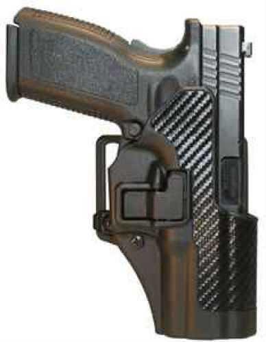Blackhawk Carbon Fiber Serpa Belt & Paddle Holster for Glock 20/21, SWMP, Right Hand Md: 410513Bk-R