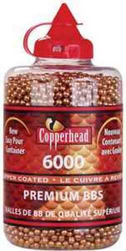 Crosman 767 CopperHead BBs .177 Copper-Coated Steel 6000 Carton