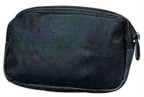 """Uncle Mikes 8838 All Purpose Belt Pouch 7""""Wx4.75""""Hx1.5""""D Black Nylon"""
