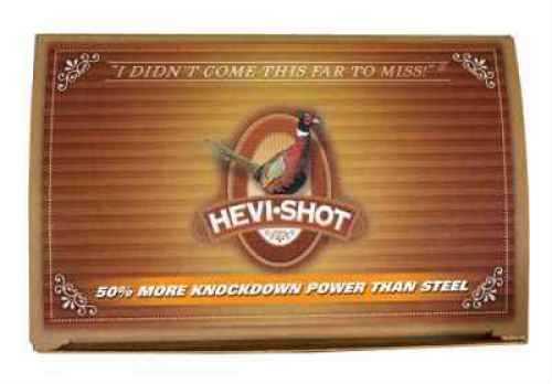 "Hevi-Shot Pheasant Heavy Density 12 Ga 2 3/4"" 1 1/8 Oz #4 Hevi-Shot 10 Rounds Per Box 100 rounds Ammunition Md: 42234"