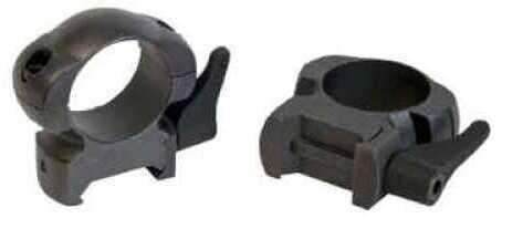 "Weaver Grand Slam Steel Rings 1"", Medium, Black, Lever Lock Md: 49328"