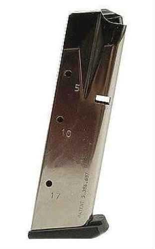 Mecgar S&W 5609 17 Round High Cap Nickel Md: MGSW5917N