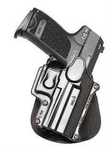 Fobus HK1RP Standard Belt Roto Paddle HK USP Compact 9/40/45; S&W Plastic Black