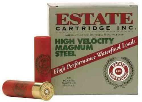 "Estate High Velocity Magnum Steel 20 Ga. 2 3/4"" 3/4 Oz #6 Shot 25 Rounds Per Box Ammunition Case Price 250 Rounds"