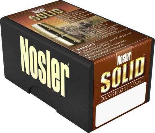 Nosler 40630 Safari 458 Lott 500 Grains Nosler Solid 20 Box