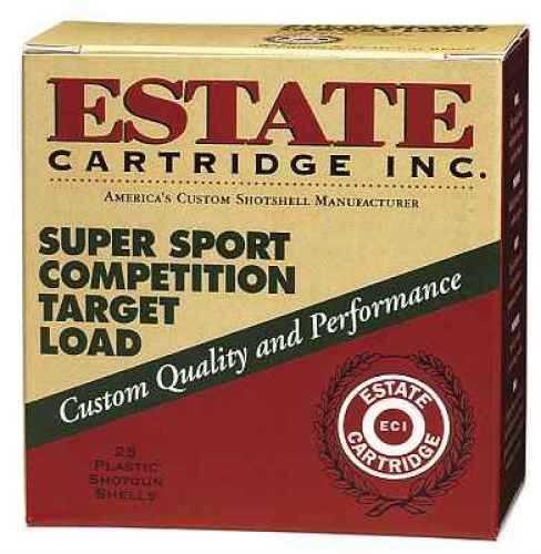 "Estate Super Sport Target 12 Ga. 2 3/4"" 1 Oz #9 Lead Shot 25 Rounds Per Box Ammunition Md: SS12H1 Case Price 250 Rounds"