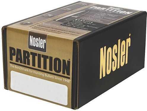 Nosler 338 Caliber 250 Grains Spitzer Partition Per 50 Md: 35644 Bullets