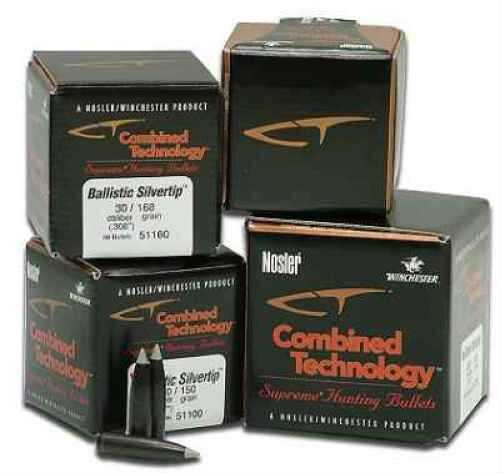 Nosler 6mm/243 Caliber 55 Grains Spitzer Ballistic St Varmint Per 100 Md: 51030 Bullets
