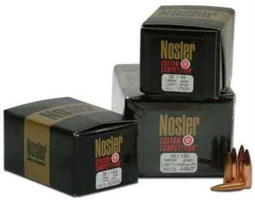 Nosler 30 Caliber 155 Grains HPBT J4 Competition Per 250 Md: 53169 Bullets