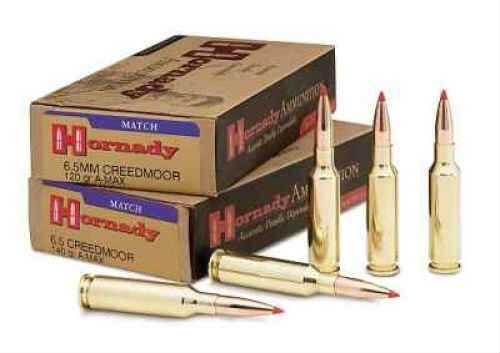 Hornady 6.5 Creedm 120 Grain A-Max Ammunition Per 20 Md: 81492