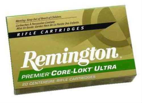 Remington 223 Remington 62 Grain Core-Lokt Bonded Premier Soft Point Ammunition 20 Rounds Per Box Md: Prc223R4
