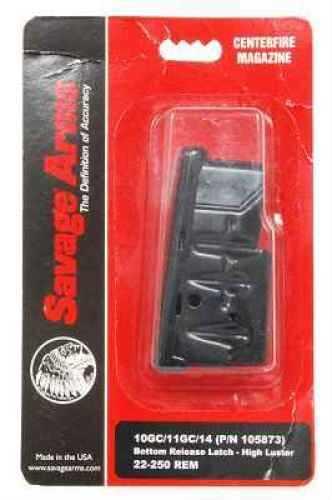 Savage MKII/900 5-Shot, 22 LR/17 Mach2, Stainless Steel Md: 90007