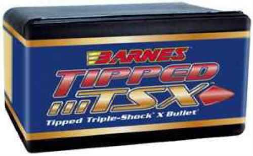 Barnes .338 Caliber 160 Grain Tipped Triple Shock Flat Base Bullet Per 50 Md: 33873