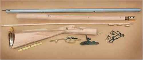 "Traditions 50 Caliber With 33 1/2"" Octagonal Barrel/Brass Furnishings/Hardwood Stock"