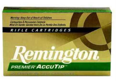Remington 29186 22-250Remington Accutip 50 Grain BT 20 Rds Ammunition PRA2250Rb