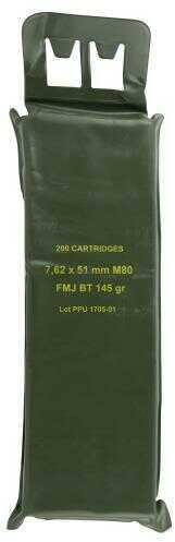 Prvi Partizan PPN762BP Mil-Spec M80 Battle Pack 308 Winchester/ Ammo 145 Gr Full Metal Jacket Boat Tail 200 Rounds