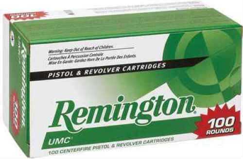 RemingtonRemington UMc 9MM 115 Grain Mc 100Rd Value Pack 100 Rds Ammunition L9MM3B