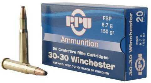Prvi Partizan Pp30301 Standard Rifle 30-30 Winchester 150 Grains Flat Soft Point 20 Rounds