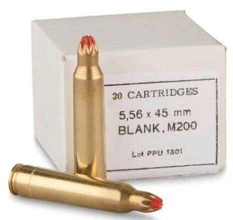 Prvi Partizan Blank 223 Remington/5.56 Nato 20 Box PPB556