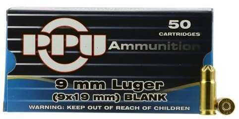 Prvi Partizan Blank 9mm Luger 50 Bx PPB9L
