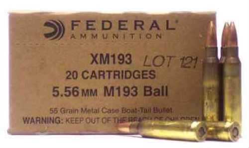 Federal 50BMG 660 Grain FMJ Lake City 10 Rds/Box Ammunition XM33C
