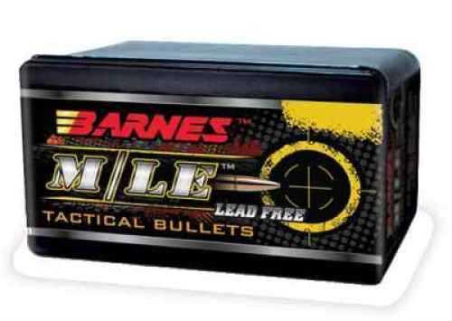 Barnes 50 BMG 647 Grain Tactical Boattail Rifle X Bullet 20 Per Box Md: 51006