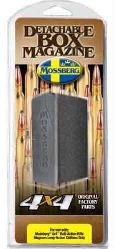 Mossberg 95034 Patriot/4x4 338/300 Winchester Magnum; 7mm Remington Magnum 3 Round Polymer Black Finish