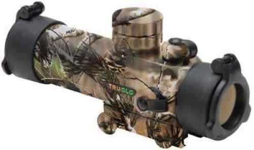 Truglo TG8030GA Gobble Stopper 1x 30mm Obj 3 MOA Illuminated Red/Green Dot Realtree APG CR2032 Lithium