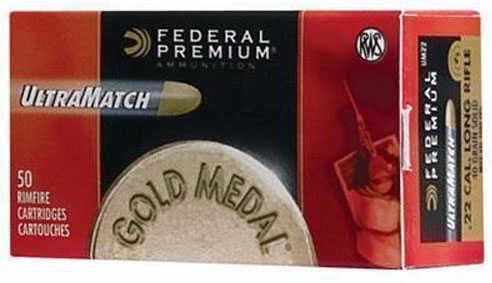 Federal Ammunition GM 22 LR 40 Grain U-Match 50Rd/Bx