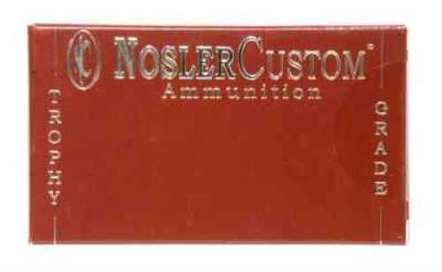 Nosler Trophy 260 Remington 125 Grain Partition Per 20 Ammunition Md: 60018