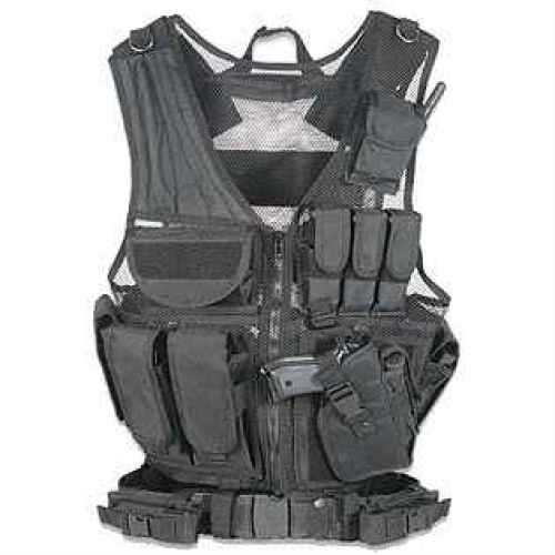 Fab Defense Black Tactical Vest Md: GMTV1