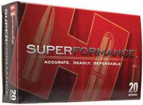 280 Remington Ammunition By Hornady SuPerformance 139 Grain SST (Per 20) Md: 81583