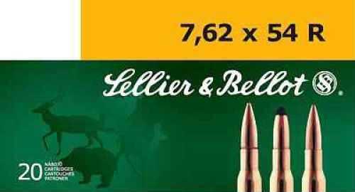 Sellier & Bellot 7.62X54R 180 Grain SP 20/20 A7.6207