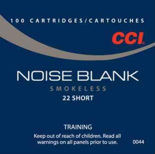22 Short By CCI 22 Short Blank Per 100 Ammunition Md: 0044