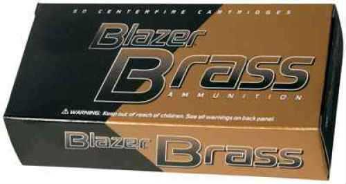 CCI Blazer Brass Pistol Ammunition 38 Spc 125 Grain FMJ 50/Bx Size 38/125Gr/FMJ