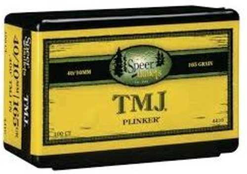 Speer .40 Caliber 10mm Bullets 165 Grains TMJ Per 100 Md: 4410