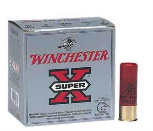 "Winchester 12 Gauge 3"" 1 1/4 Oz Super X Drylok Super Steel Shot #BB 25 Rounds Per Box Ammunition Case Price 250 Rounds"