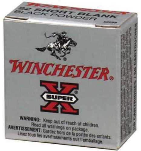 22 Short By Winchester 22 Short 0 Grain Super-X Blanks Black Powder Per 50 Ammunition Md: X22Sb
