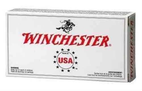 Winchester USA 9mm 115 Grain FMJ 50/Bx (50 rounds Per Box)