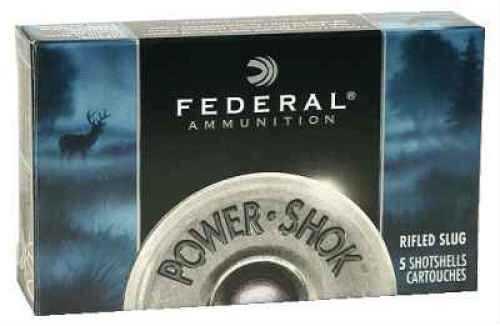 """Federal 20 Gauge Rifled Slugs 2 3/4"""" Max Dram 3/4Oz HP Per 5 Ammunition Md: F203Rs"""