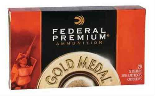 Federal Gold Medal 223 Remington 77 Grain Sierra Matchking BT Ammunition GM223M3