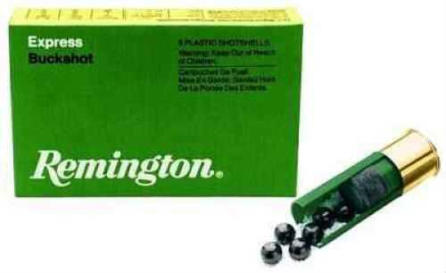 Remington Express 20 Gauge 3 Buck 2 3/4 Dram Buckshot 20 Pellets 5 Round Box 20630