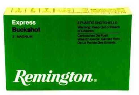 "Remington Express Mag12Ga 3"" (15) 00 Buck 5 Rds Ammunition 12HB00"