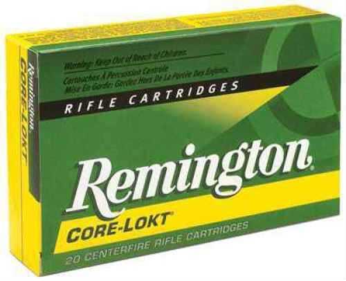Remington 27802 243Winchester 100 Grain PSP Core LOKT 20 Rds Ammunition R243W3