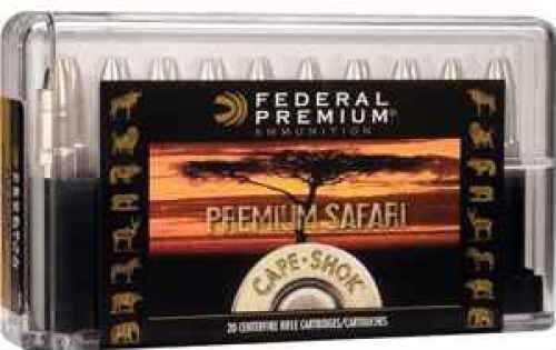 Federal P470T1 Premium Safari Cape-Shok 470 Nitro Express 500 GR Trophy Bonded Bear Claw (TBBC) 20 Box