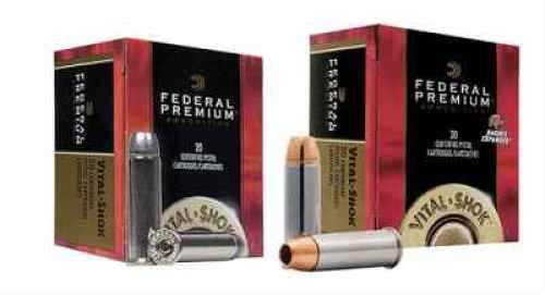 Federal Premium 40SW 165 Grain Hydra-Shok JHP 20 Rds Ammunition P40Hs3