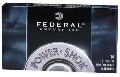 Federal 6mm Remington 80 Grain Hot-Cor Soft Point Per 20 Ammunition Md: 6AS