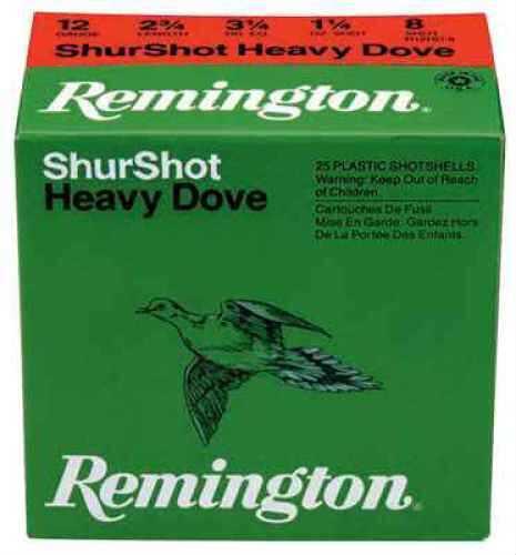 Remington Rhd208 20Ga Hvy Dove 1Oz Per 25 Ammunition Case Price 250 Rounds